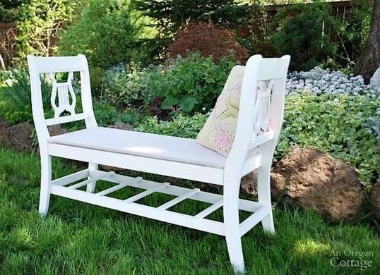 12 Doable Designs For A Diy Bench Old Chairs Diy Bench