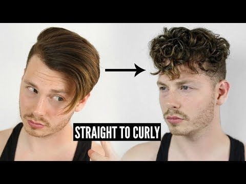 How To Get Curly Hair Easy Straight To Curly Instantly Tutorial 2019 Youtube Curly Hair Styles Long Hair Styles Men Mens Hairstyles