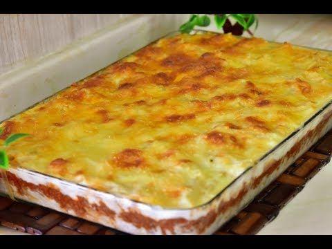 معكرونه بالبشاميل بطريقه سهله وطيبه من اطيب الوصفات Youtube Cooking Recipes Recipes Food
