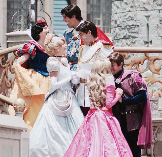 Princesses on point