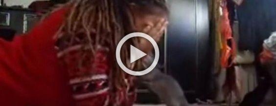Esta chica juega al escondite con su rata. Su reacción es SORPRENDENTEMENTE adorable! #viral