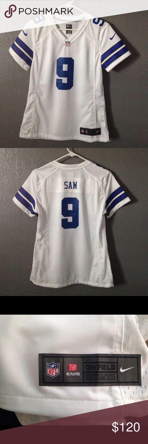 Dallas Cowboys women's jersey Any Cowboys fans named Sam? NFL game jersey. Women's small. Never worn. Tops Tees - Short Sleeve