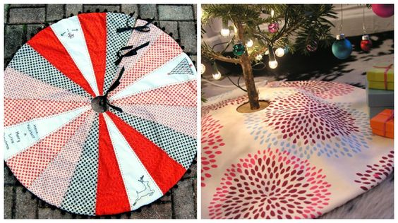 Christmas Tree Skirt Roundup - Holiday Crafting Support Group