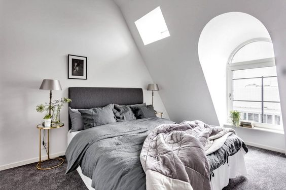 Concept Saltin Designs a Scandinavian Attic Apartment in Stockholm | Photographed by Henrik Nero
