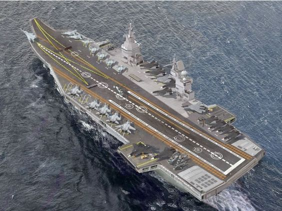 YoUnGeStEr...: Indian Aircarft Carriers : Project 23000E
