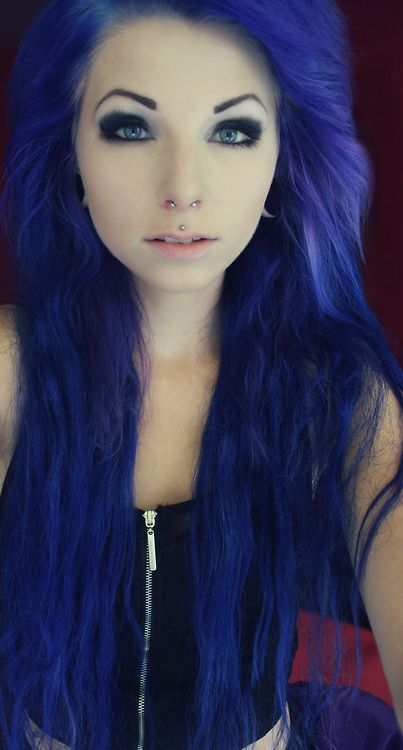 hair blue hair and dye my hair on pinterest