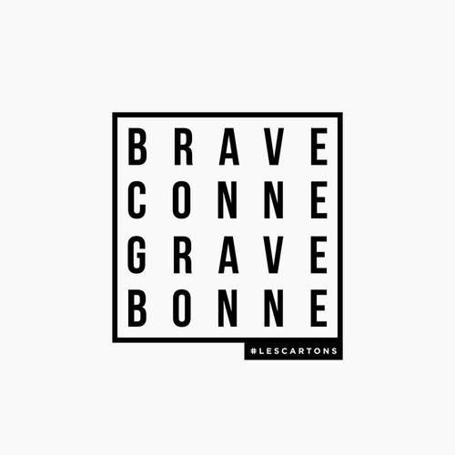 Image via We Heart It #bonne #connasse #conne #braveconne