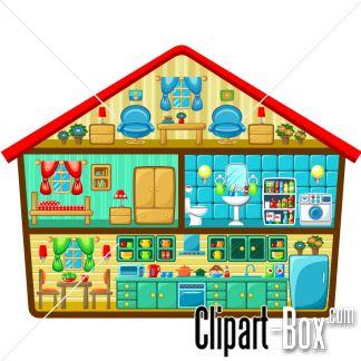 CLIPART HOUSE CUTOUT