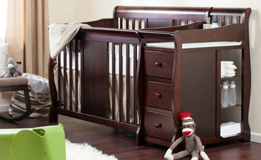 Union 2 In 1 Convertible Mini Baby Cribs With Images Best Baby