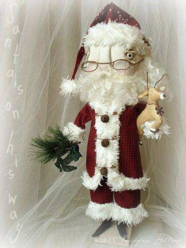 Find Best Value And Selection For Your Original Primitive Vintage Style Santa Seasonal Decor Search On Ebay World S Leading Marketplace