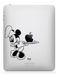 Minnie Mouse. iPad, iPad 2 or iPad 3 Sticker Decal