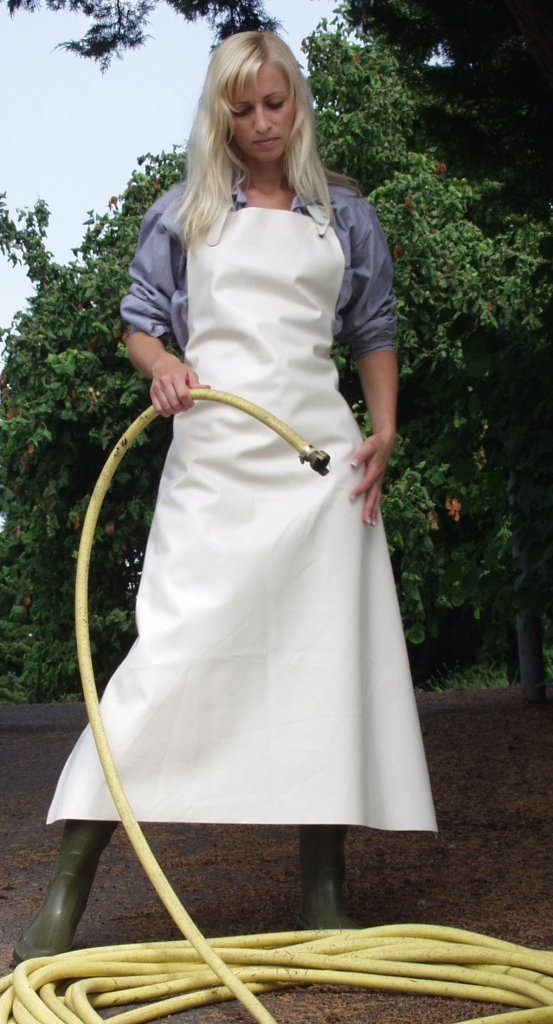 Apron And Wellington Boots