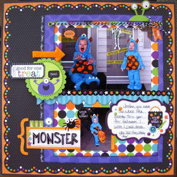 L'il Monster - Scrapbook.com