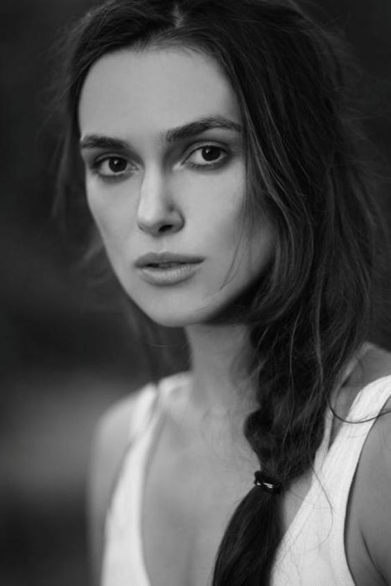 How does Keira Knightley's character develop over the