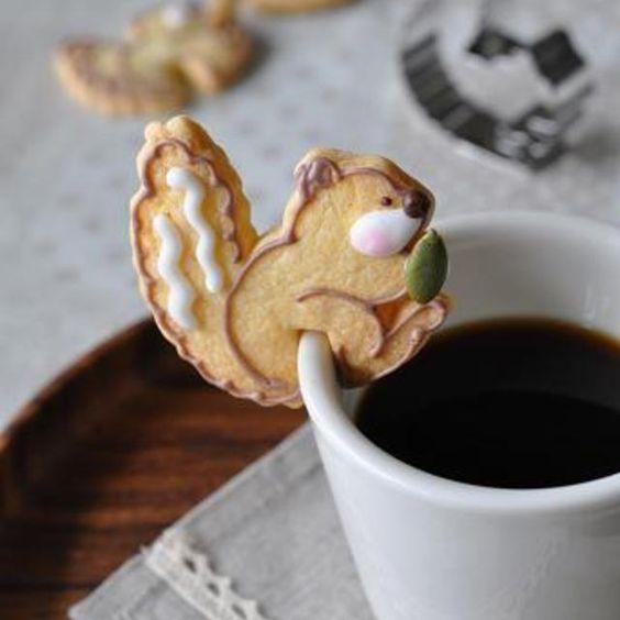 リスのカップクッキー