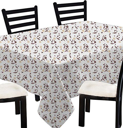 Linen Rectangle Tablecloth Cover 6 Seater 100 Cotton Butterfly Table Cloth Rectangular Brown 55 Table Cloth Cool Furniture Table Covers