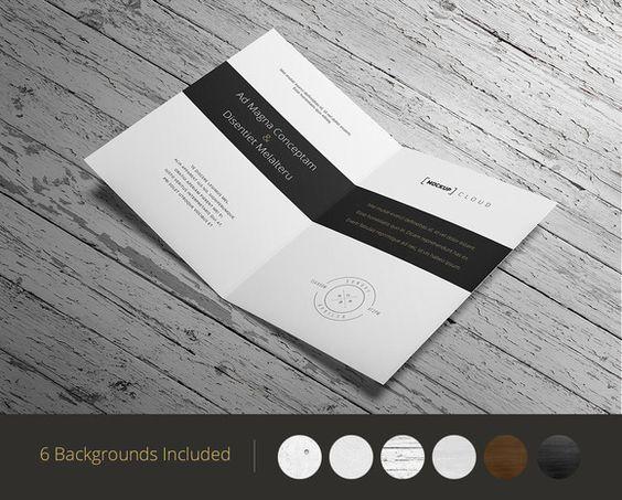 Invitation / Greeting Card Mock-Up by Mockup Cloud on Creative Market