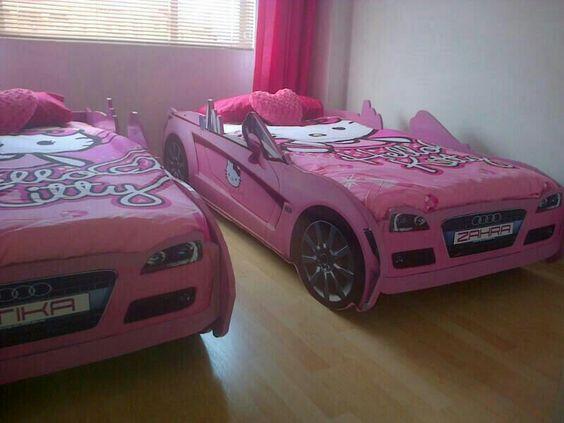 Hello Kitty Car Bed