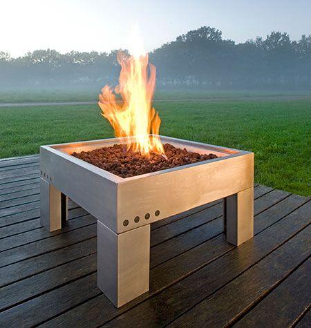 modern camp fire