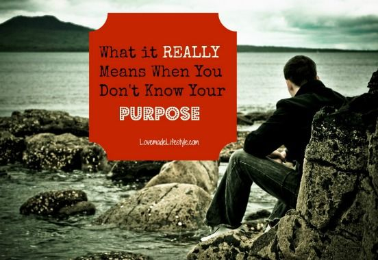 Still don't know what you want to be when you grow up?  This is a must read for finding #purpose! http://lovemadelifestyle.com/really-means-dont-know-purpose/