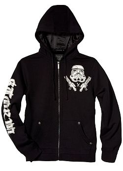 Star Wars Bring In The Storm Troopers Hoodie By Marc Ecko (Black) $79.00