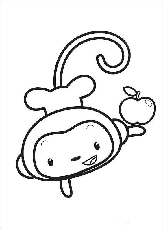 Ni Hao Kai-Lan Tegninger til Farvelægning 11