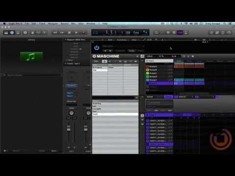 Tutorial Drag Midi From Maschine Into Logic Pro X For Mixing Logic Pro X Logic Pro Apple Logic Pro
