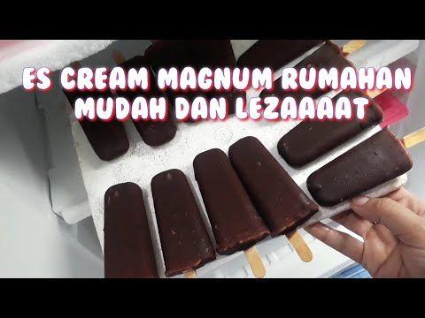Tutorial Resep Membuat Es Cream Magnum Rumahan Youtube Di 2020 Es Krim Krim Minuman
