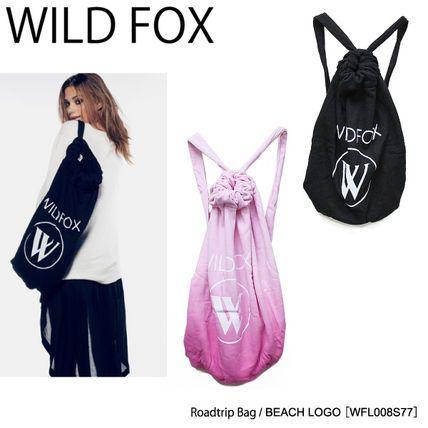 【WILD FOX】Roadtrip Bag[Beach Logo]