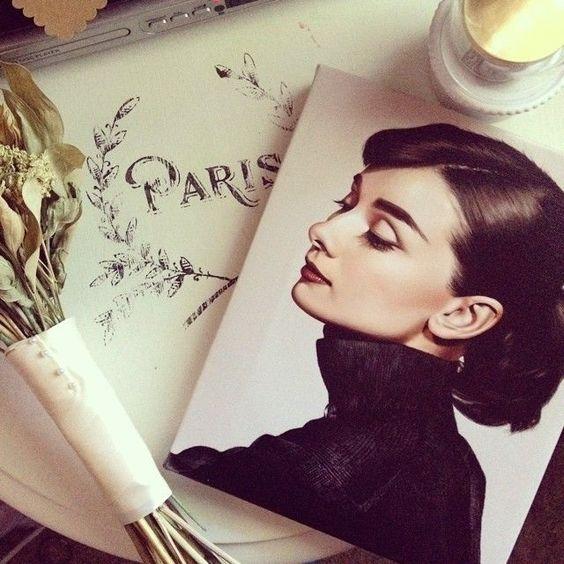 Ana Rosa #Audrey #Hepburn:
