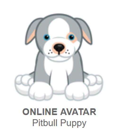 Webkinz Pitbull Puppy June Pet Of The Month Code Only Webkinz