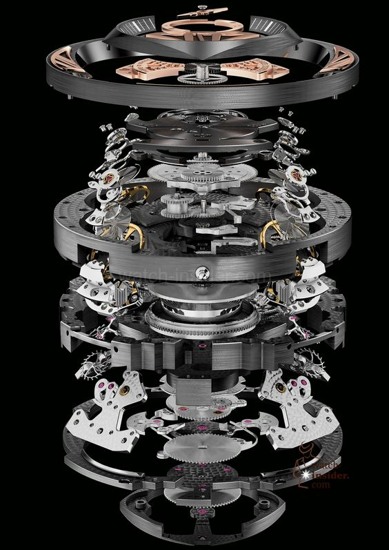 exploded view of watches - Google Search