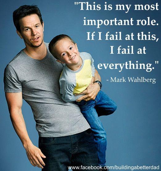 Mark Wahlberg on fatherhood