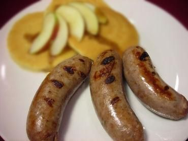 Veal sausage, Smoke House: The shop, known for its European sausages and smoked meats, makes this light and flavorful steam-cooked sausage with fresh parsley and white pepper.