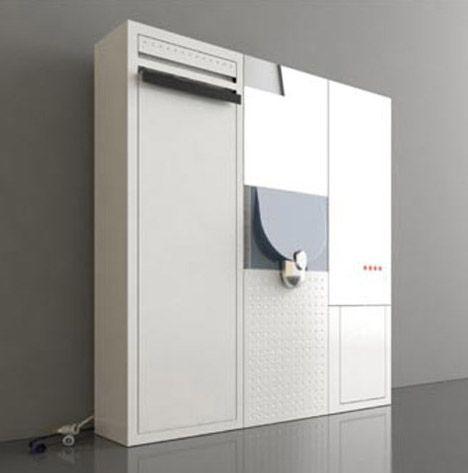 espacio pequeño diseño del baño oculto