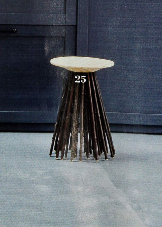 tabouret chataigner Chatersen