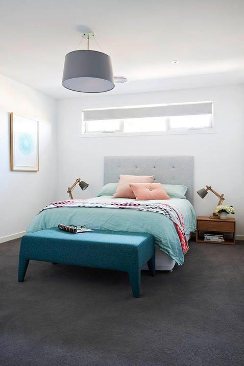 Archer Interiors Charcoal Carpet White Walls M Bed Carpet Plush Or Loop Archer Interiors In 2020 White Wall Bedroom Dark Grey Carpet Grey Carpet Living Room