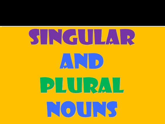 singular-and-plural-nouns-ppt by bernabaoya via Slideshare