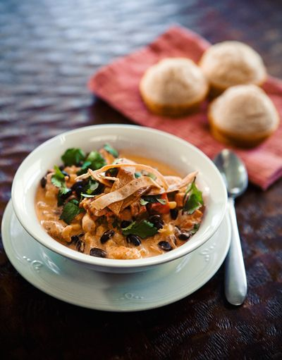 Some the Wiser: Chicken Enchilada Soup