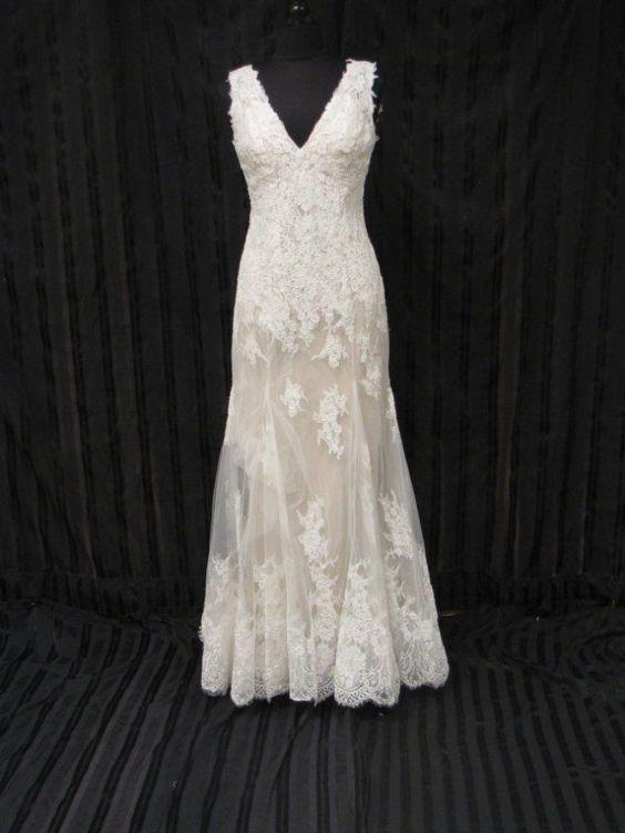 Wtoo Wedding Gown Bridal Dress Francine style 13132  sz 8