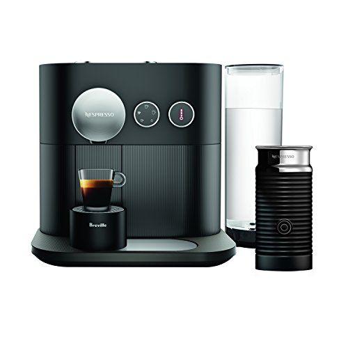 Nespresso Expert Original Espresso And Coffee Maker Bundle With