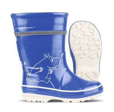 Nokian Footwear Moomin - Botas de goma para niña, color azul, talla 41: Amazon.es: Zapatos y complementos