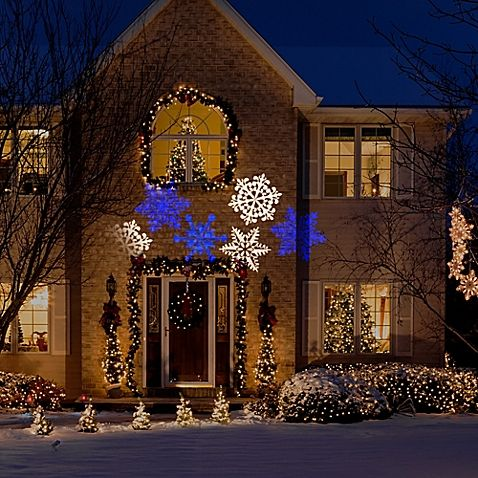 Snow Flurry Whirl A Motion Lightshow Projection Christmas Lights