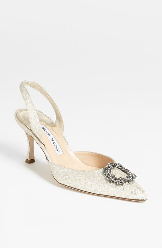 Manolo Blahnik Zapatos De Boda