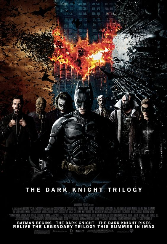 The Dark Knight. I am a huge batman fan. The Dark Knight trilogy was awesome!!