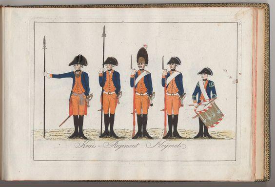 Kreis-Regiment Heÿmel - 1784