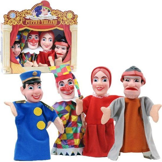 | Hand Puppet 4 St., ShowTime | Speelgoed