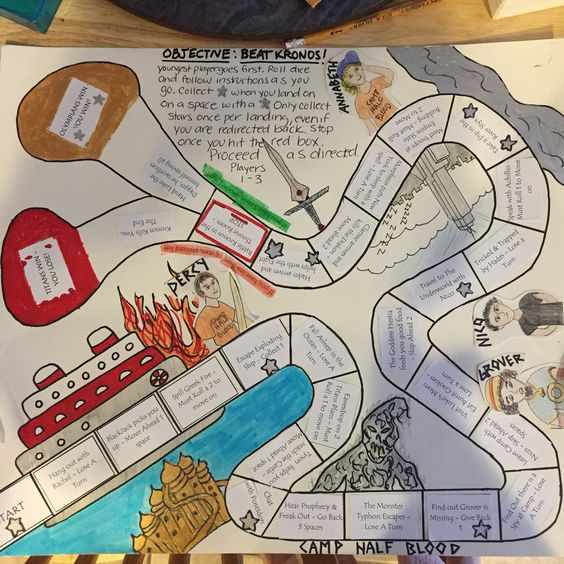 board game project instructions