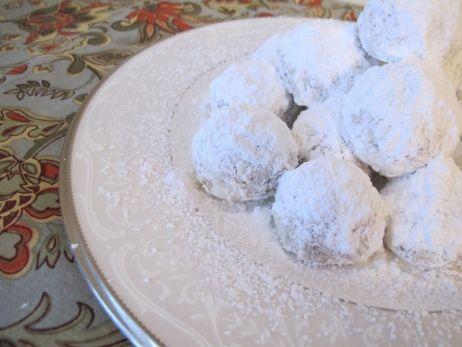 Snowballs Russian Tea Cakes Mexican Wedding Cookies Recipe