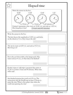 our 5 favorite prek math worksheets elapsed time and worksheets. Black Bedroom Furniture Sets. Home Design Ideas